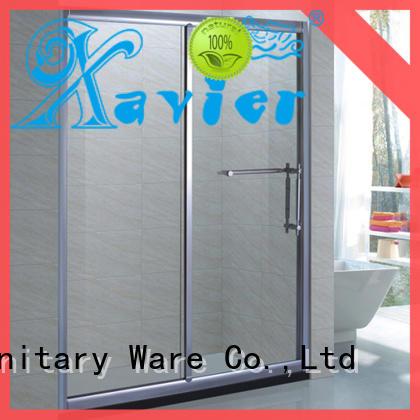 Xavier customized corner bath shower screen hotel for household