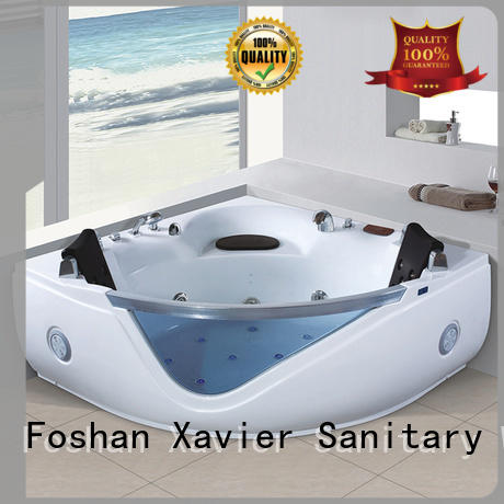 Xavier technical massage bathtub from China for two people