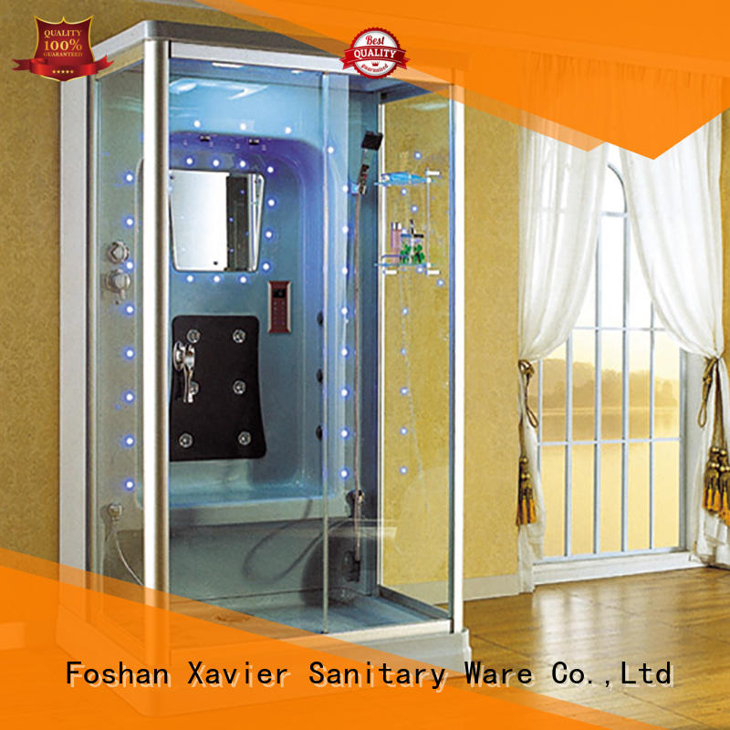 Xavier zyf1212tg steam shower sauna combo on sale for hotel