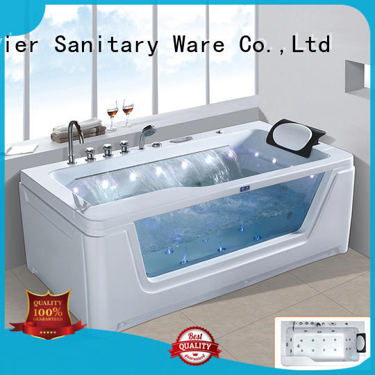 Xavier multi function corner whirlpool tub from China for outdoor
