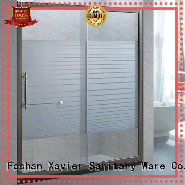 room roller screen corner shower doors Xavier Brand