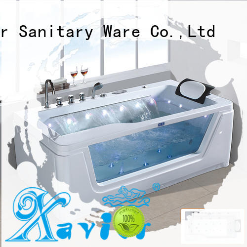 Xavier good quality jacuzzi bath tubs supplier for family