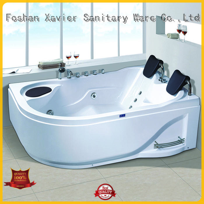 Xavier whirlpool bathroom jacuzzi tub online for two people