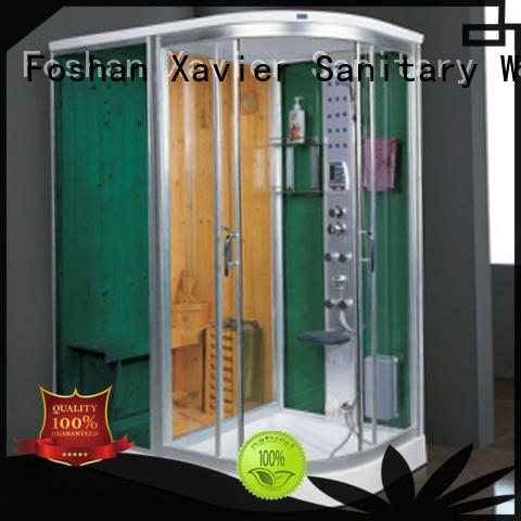 Xavier customized sauna and steam room promotion for villa