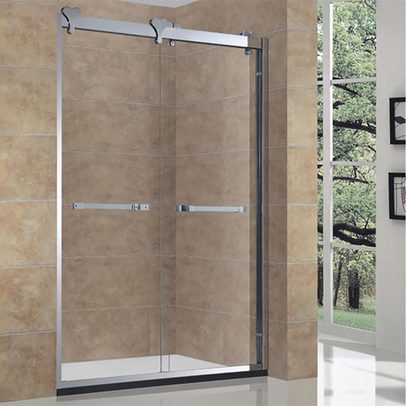 Stainless Steel Sliding Shower Door Hardware Shower Room BXG-005