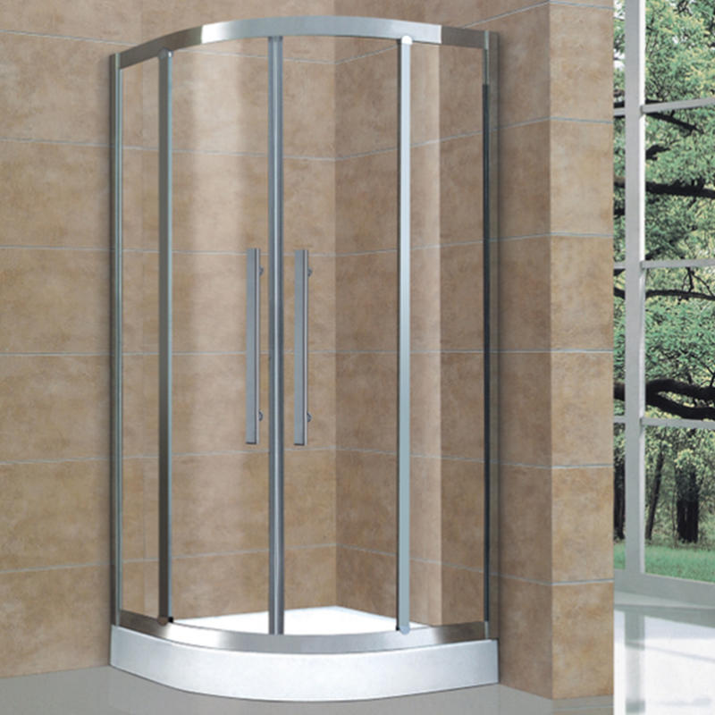 Foshan shower rooms durable Simple hotel shower enclosure Stainless Steel 304 shower cubicle BXG-019