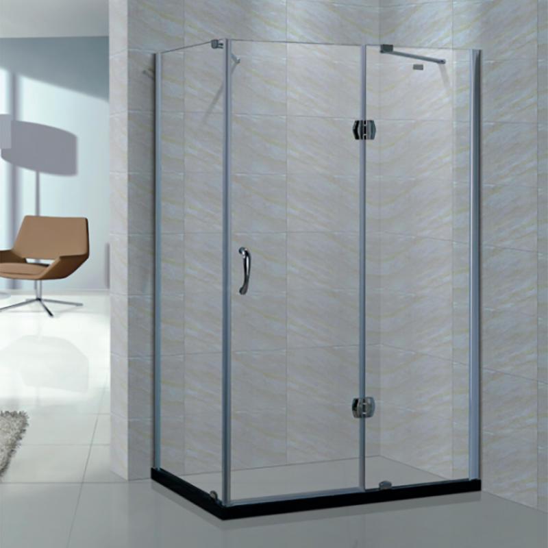 Rectangle frameless hinge shower screen/enclosure/room XB-9015
