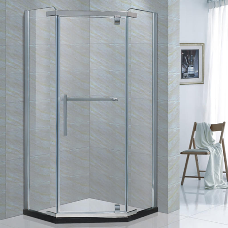 high quality frameless sliding glass door shower enclosure XB-9085