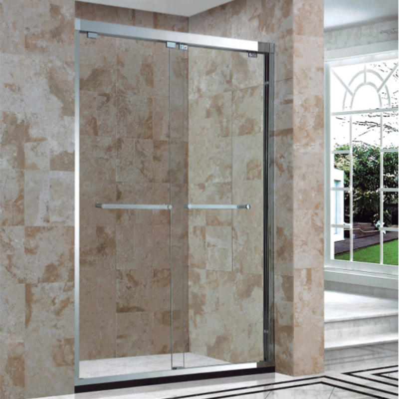 Hotel Bathroom 304 Stainless Steel Tempered Glass Shower Screen BXG-024