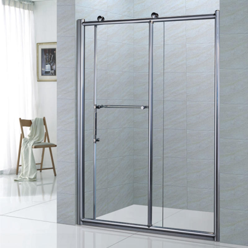Extension Bathroom Big Roller Bypass Sliding Glass Shower Door XB-9056