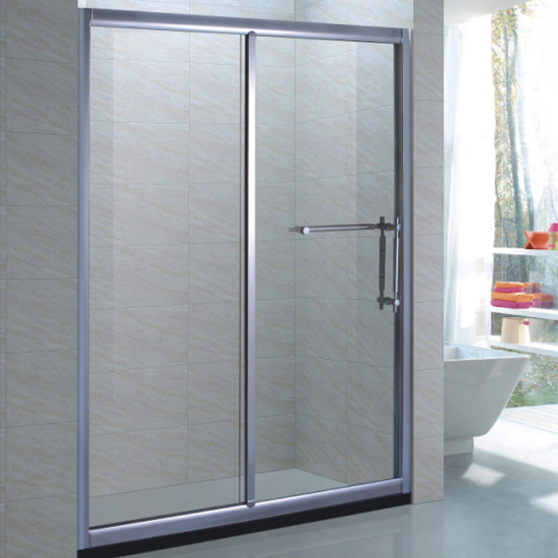 Sliding Glass Shower Enclosure with Fixed Panel XB-9062