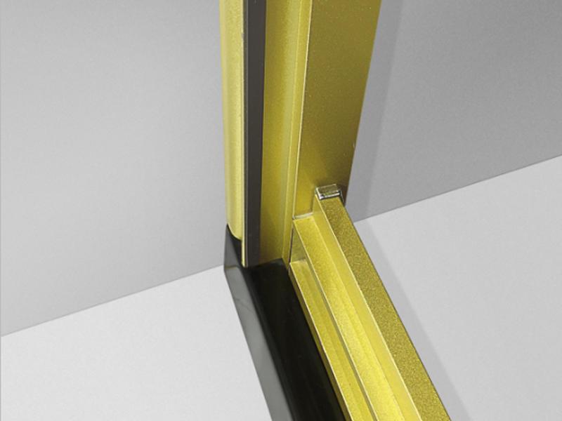 luxury screen roller corner shower doors Xavier Brand