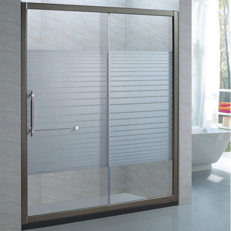 good quality with best price 6mm aluminum glass shower screens XB-9065