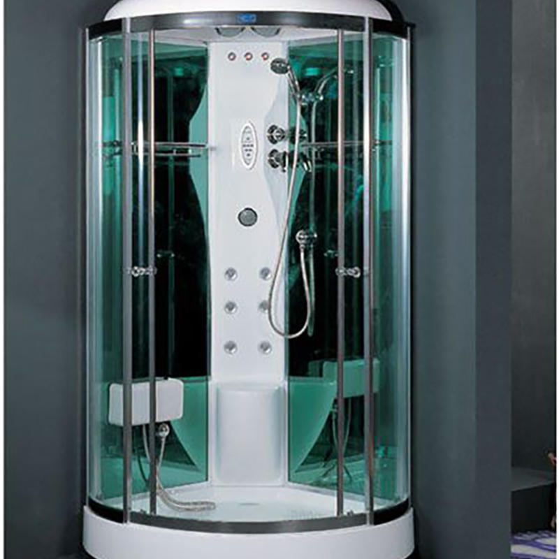 coated glass steam room with feet massage ZB105