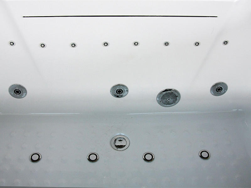 wholesale acrylic bathroom Xavier Brand freestanding tub with shower factory