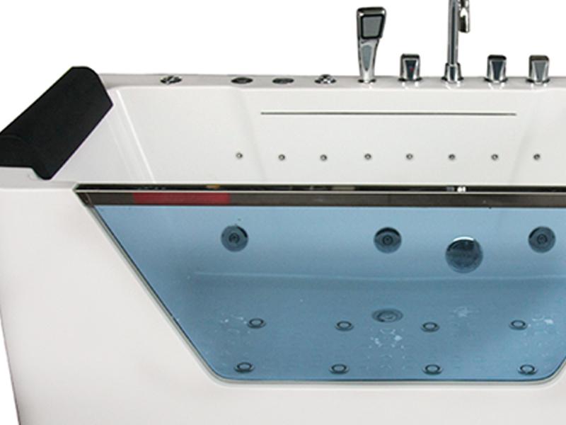 Xavier -Sanitary Ware Freestanding Hydromassage Sexy Bath European Style Bathtubs-4