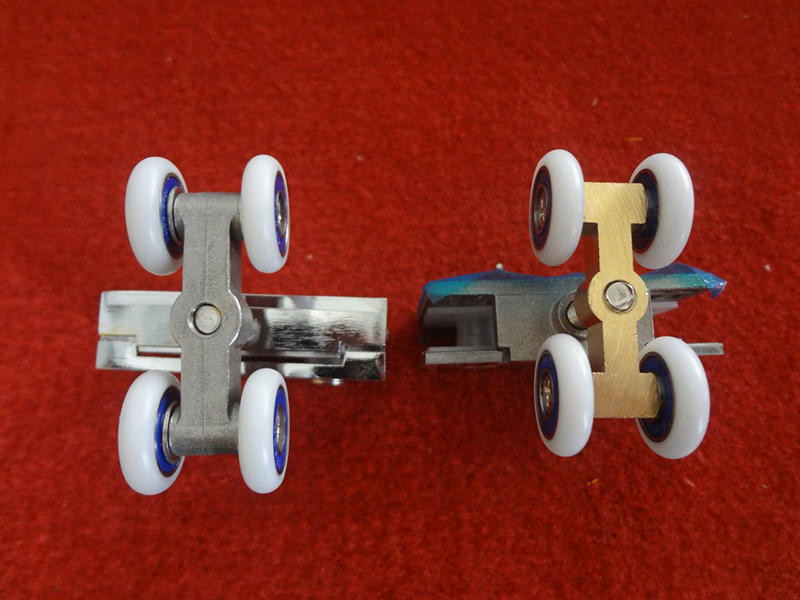 The small four-wheel(stainless steel and copper)