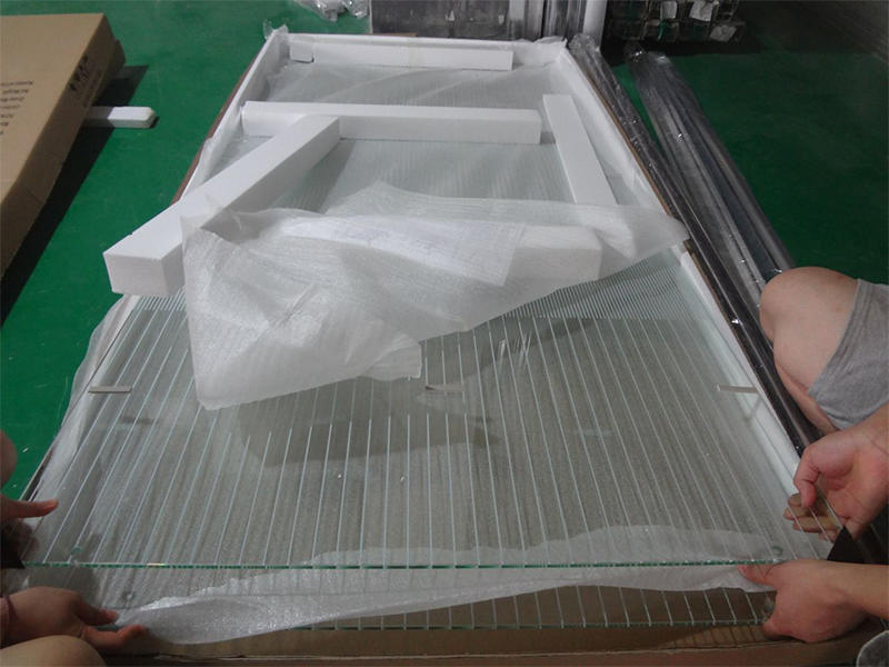 Glass display 6mm
