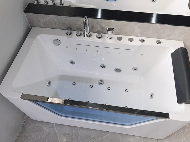 Xavier -Sanitary Ware Freestanding Hydromassage Sexy Bath European Style Bathtubs-6