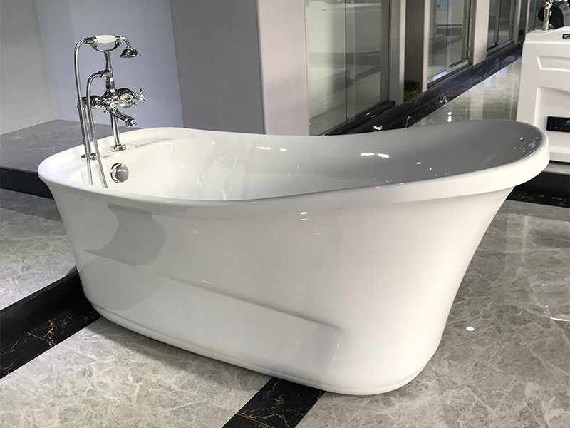Xavier -Modern Freestanding Tub | Classic Design Acrylic Freestanding Solid Surface-3