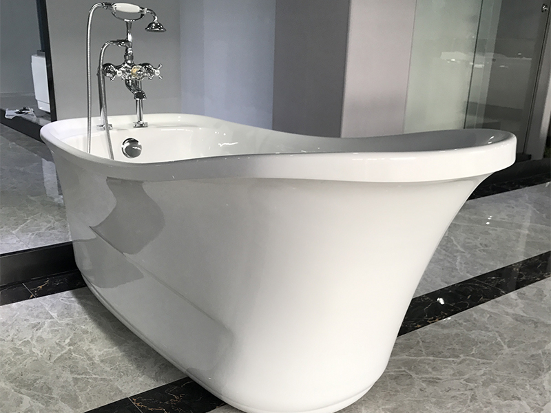 Xavier -Modern Freestanding Tub | Classic Design Acrylic Freestanding Solid Surface-4