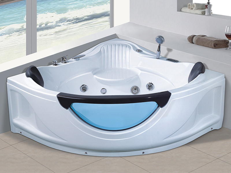 Xavier -Jetted Tub Indoor New Style Corner Acrylic Whirlpool Hot Tub Massage-5