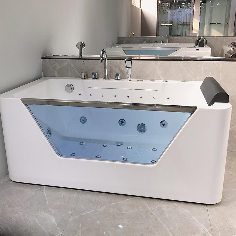 Sanitary Ware Freestanding hydromassage Sexy Bath European Style Bathtubs AC-157