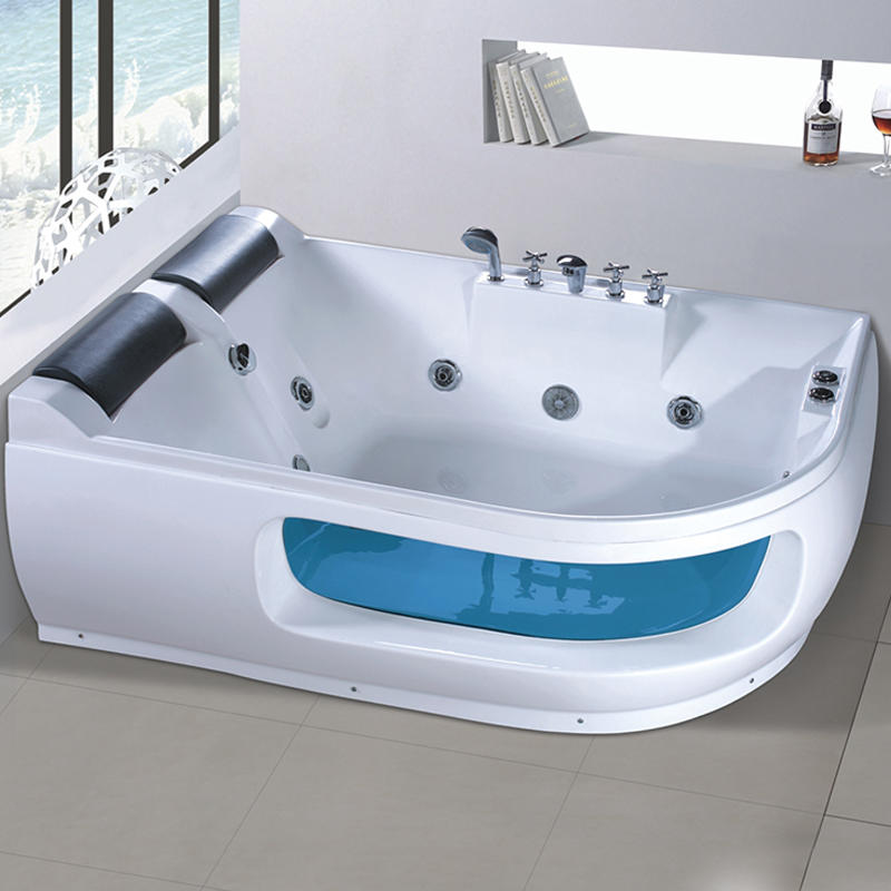 Factory Wholesale Whirlpool pearl hydromassage bathtub X-270