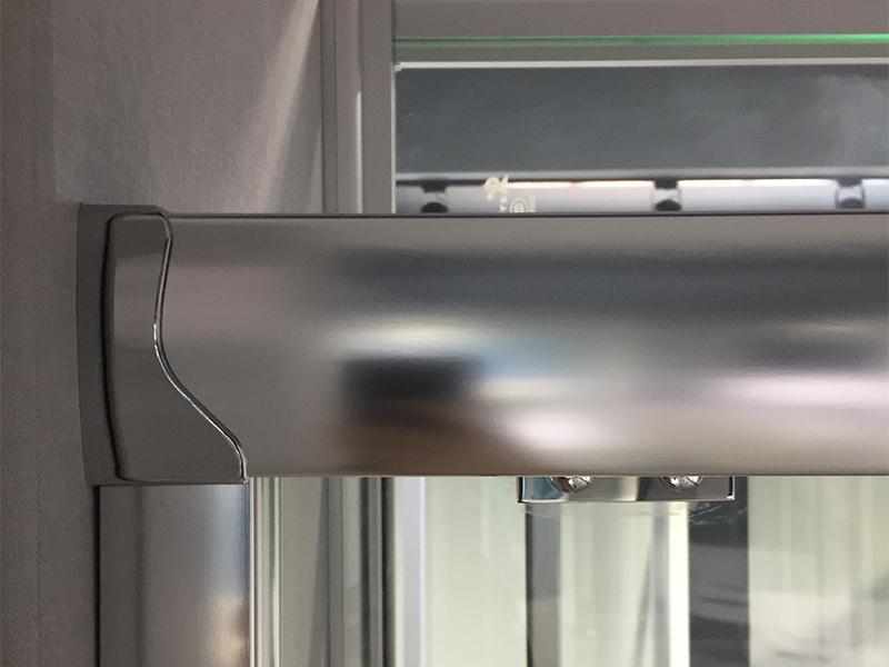 Xavier -High-quality Bath Screen | Luxury Simple Bathroom Sliding Tempered Glass-4