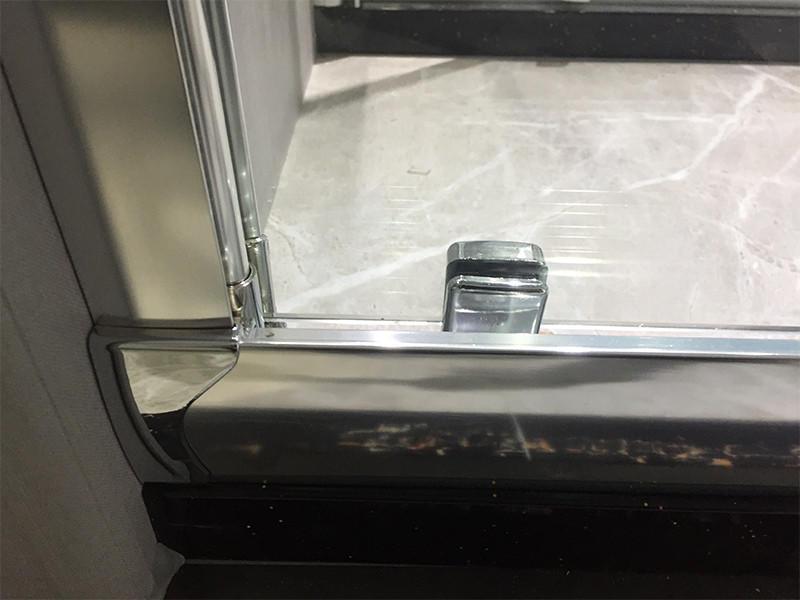 corner shower doors door screen bath shower screens steel Xavier Brand