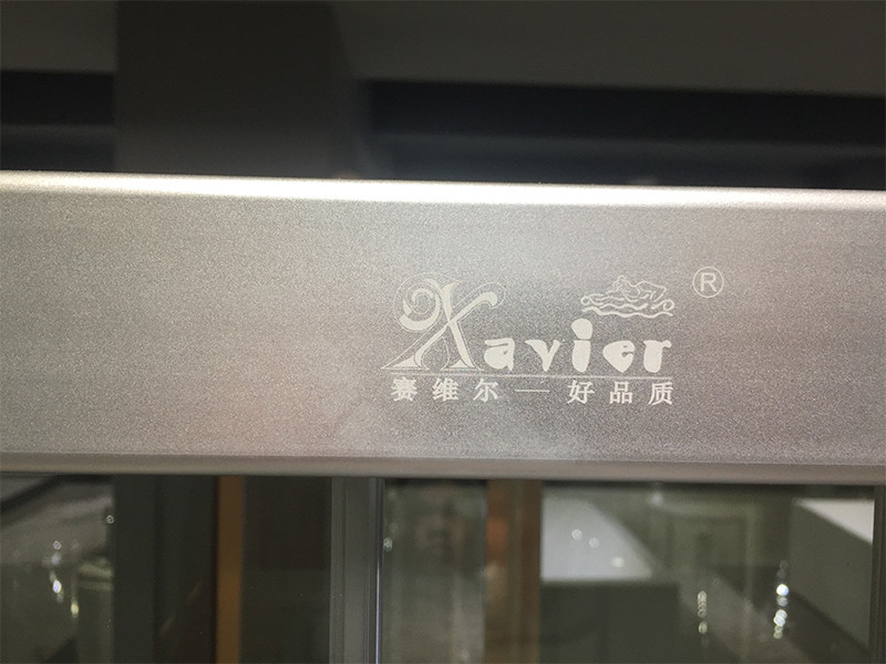Xavier -Bath Glass Screen, Good Quality With Best Price 6mm Aluminum Glass Shower-5