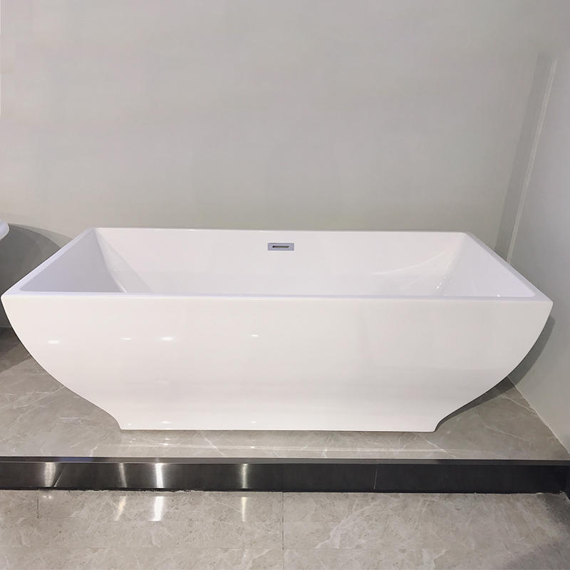 Modern style square freestanding used acrylic bathroom bathtubs AC-155