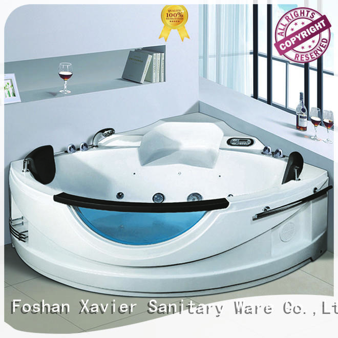 indoor acrylic bathtub OEM whirlpool tub Xavier
