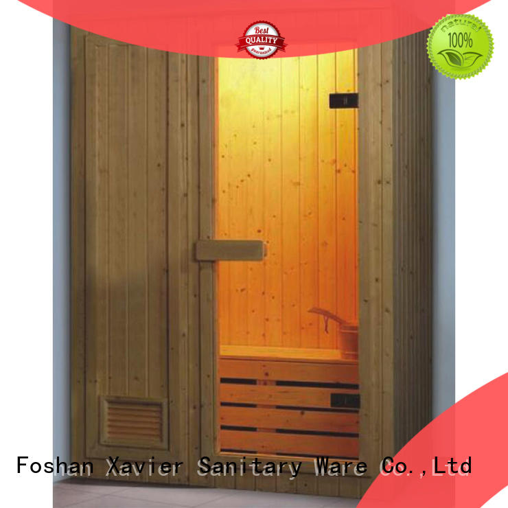Xavier size infared sauna promotion for hotel