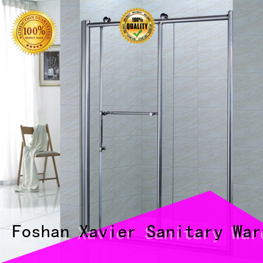 Xavier bypass bath shower screens for sale for hotel