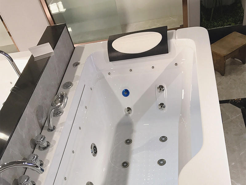 Xavier -Whirlpool Tub Hydromassage Bathtub Whirlpool Massage With Waterfall And-1