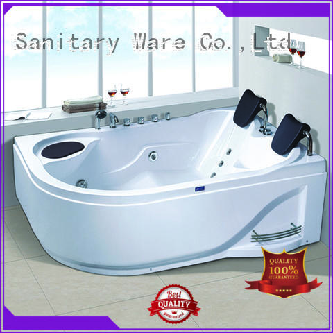 Xavier custom freestanding whirlpool tub price for villa