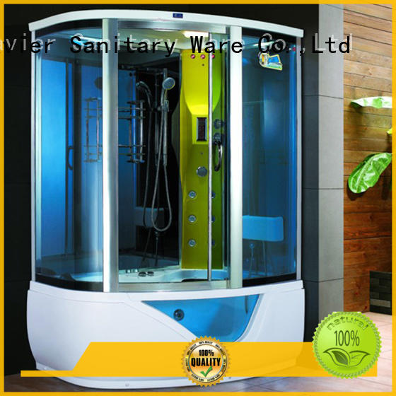 Xavier acrylic steam shower cabin supplier for home