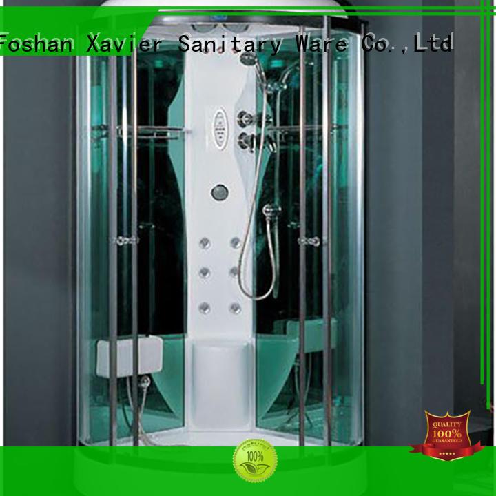 Wholesale glass steam room shower Xavier Brand