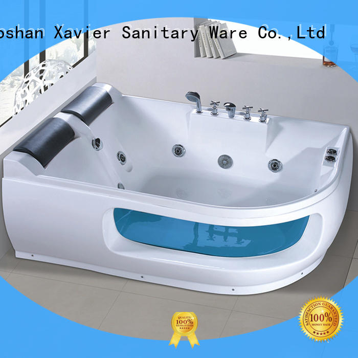Xavier style bathroom jacuzzi tub supplier for villa