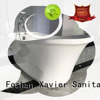 freestanding acrylic freestanding bathtub wholesale bathroom Xavier company