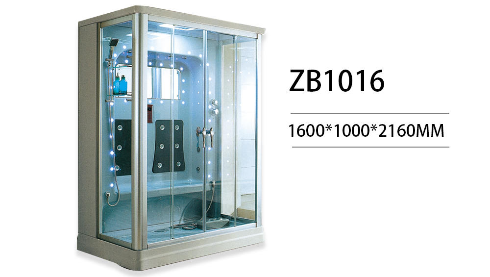 Xavier -High-quality Steam Shower Bath | 2018 Hot Selling Steam Room For 2 Person Zb1016