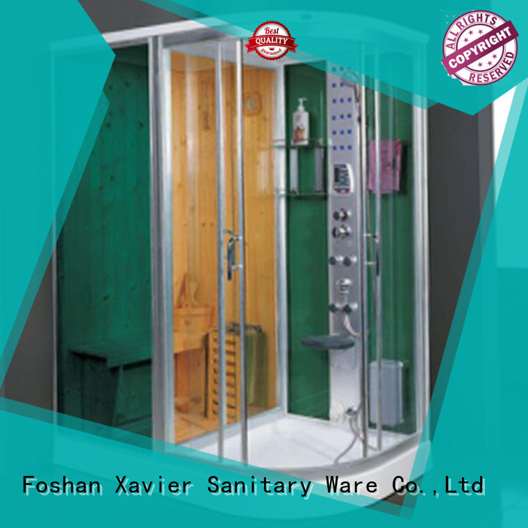 steam and sauna indoor house infared sauna steam Xavier Brand