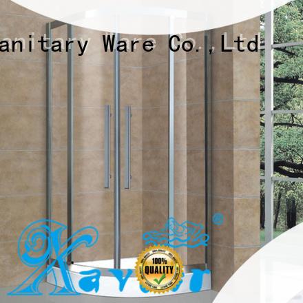 Xavier durable corner shower enclosures promotion for hotel