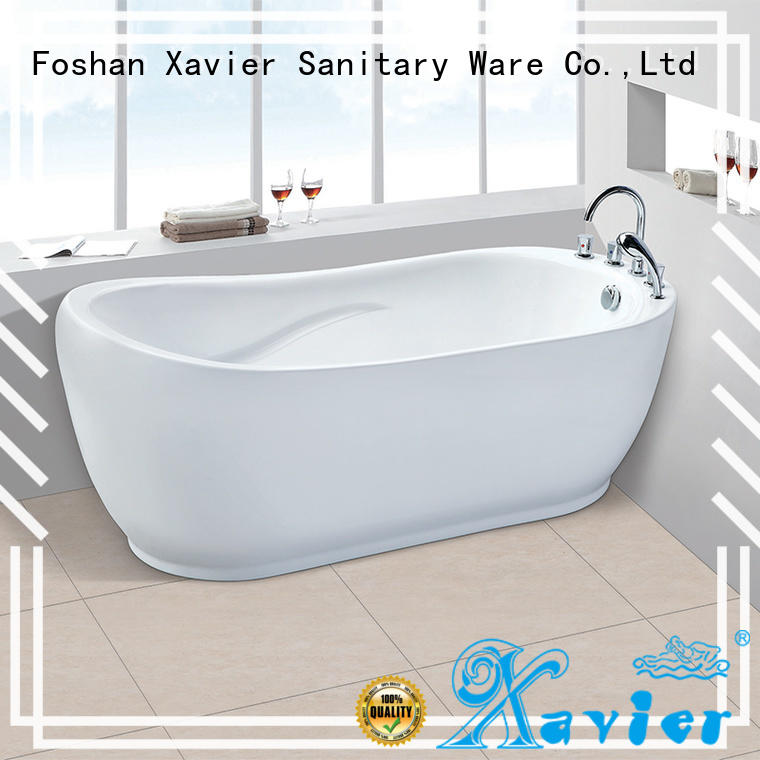 Xavier ac159 freestanding soaking tub on sale for home
