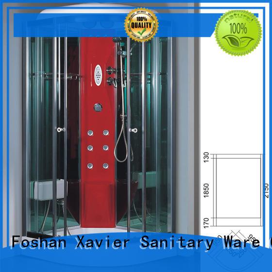 steam room shower hot selling glass Warranty Xavier