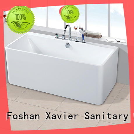 Xavier sanitary big bath with waterfall for home