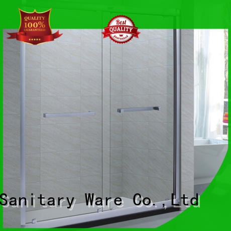 Xavier good quality sliding glass shower doors directly price for home