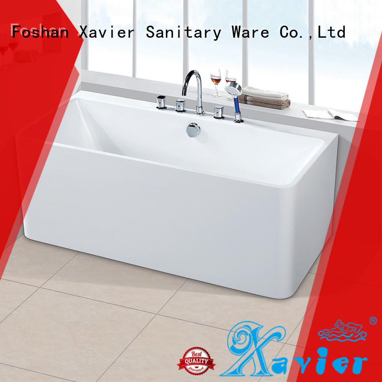 Xavier ware best freestanding tubs with waterfall for homestay