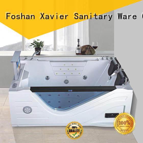 Xavier Brand acrylic hydromassage bathtub whirlpool tub